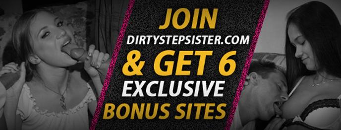 header banner - Dirty Step Sister
